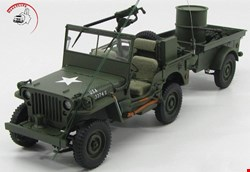 Jeep Willys 1941- with Trailer