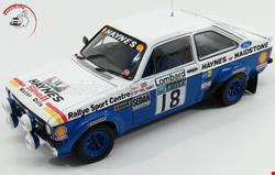 Ford Escort Rs1800 No.18 1979