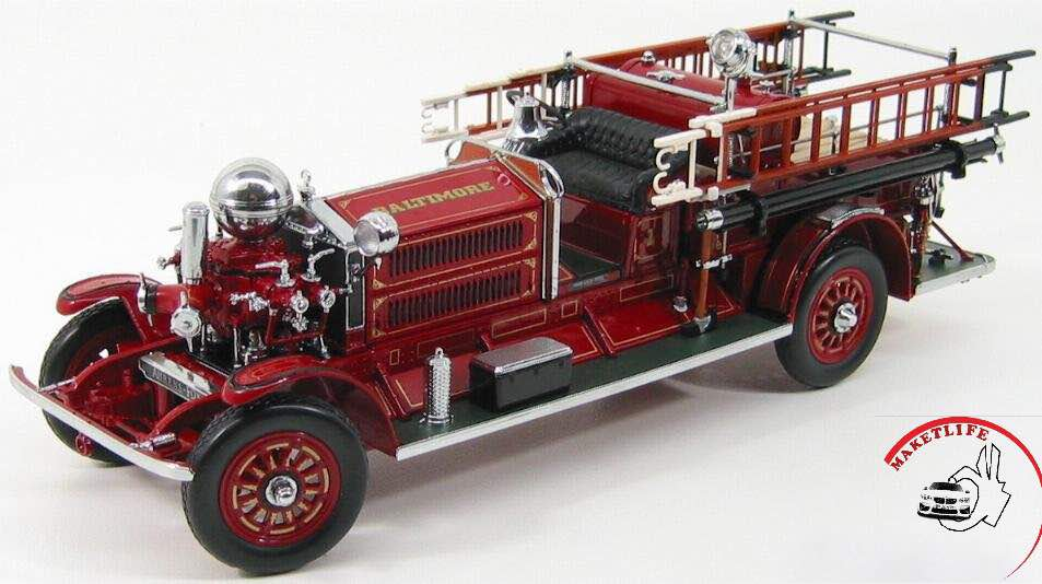 Ahrens Fox N-S-4 Fire Engine 1925